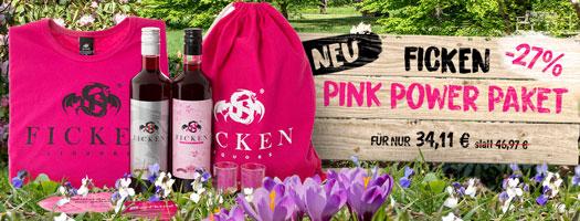 FICKEN Pink Power Paket für 34,11 EUR