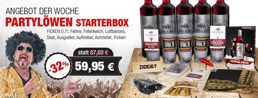 Angebot - Partylöwen Starter-Box