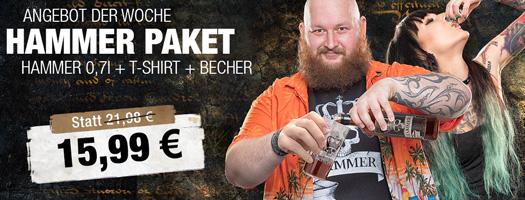 Angebot - HAMMER Paket für 14,99 EUR