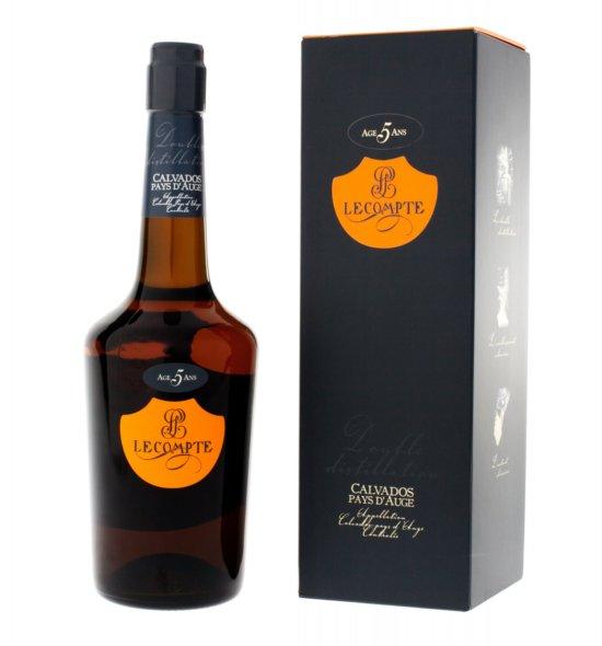 Calvados Pays D'Auge LeCompte · 0,7l · 40% · 5 Jahre
