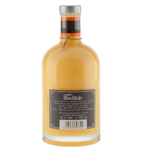 Lotta's Eierlikör mit Orange · 0,7l · 20%