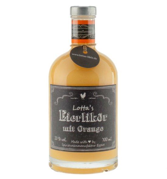 Lotta's Eierlikör mit Orange · 0,7l · 20%