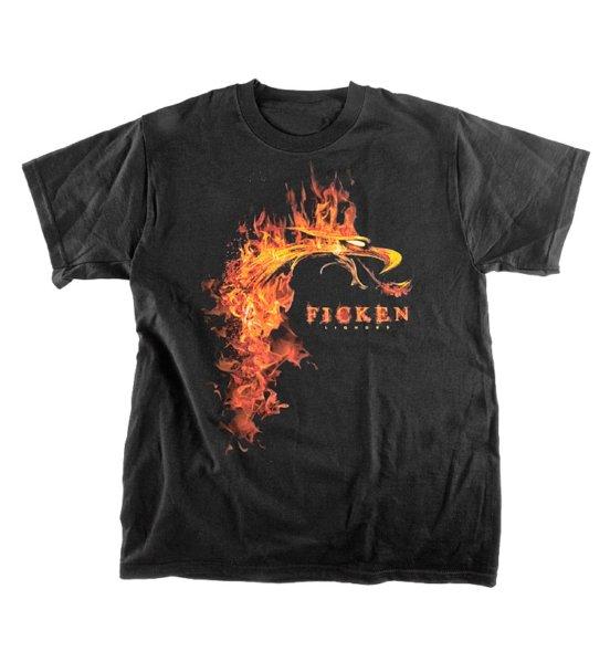 FICKEN Feuerdrachen-Shirt