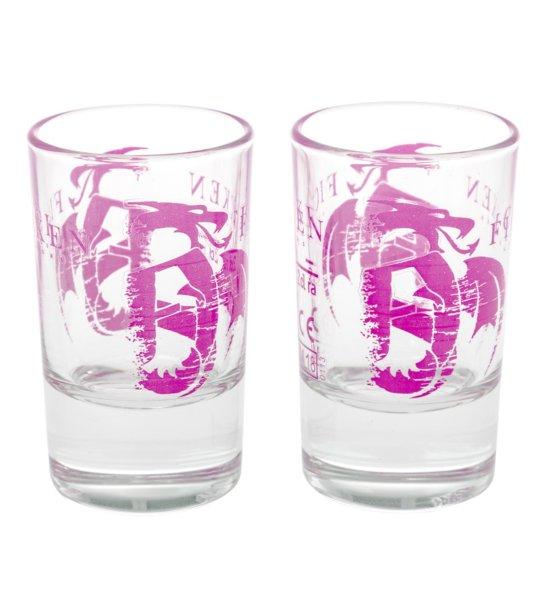 FICKEN 2er Schnapsglas-Set