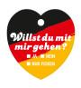 Bierdeckel Herz Deutschland