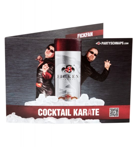 FICKEN Cocktail-Karate (Aufsteller)