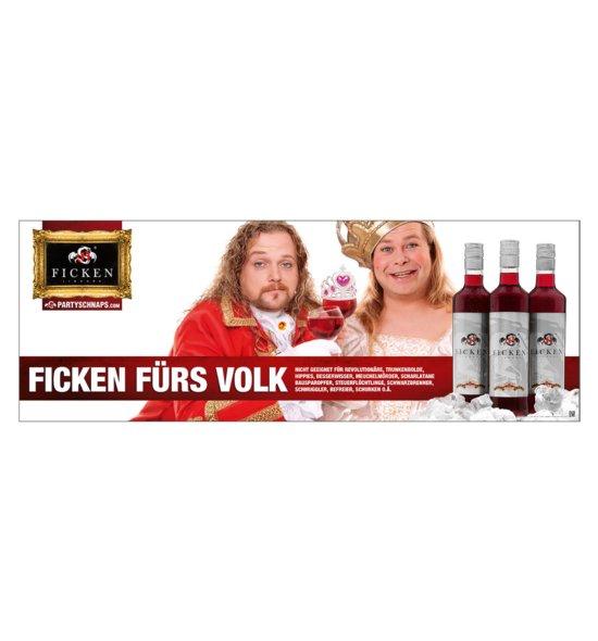 Poster FICKEN FÜRS VOLK
