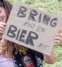 Festivalpappe Bier mitbringen