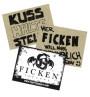 FICKEN Pappe 40x30 Festival