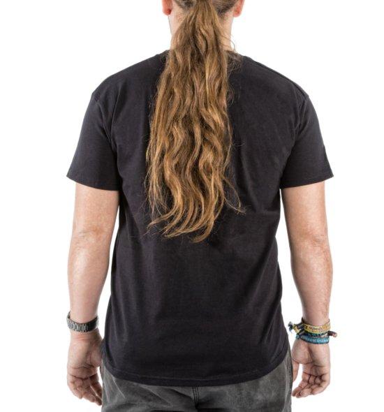 FICKEN Partyshirt schwarz hinten Männer