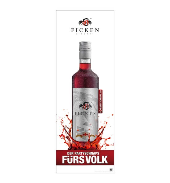FICKEN Poster Flasche 0,7l