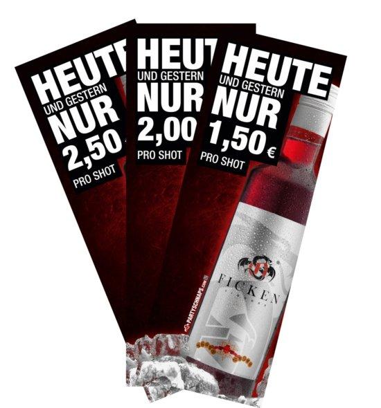 FICKEN Poster Preisschild
