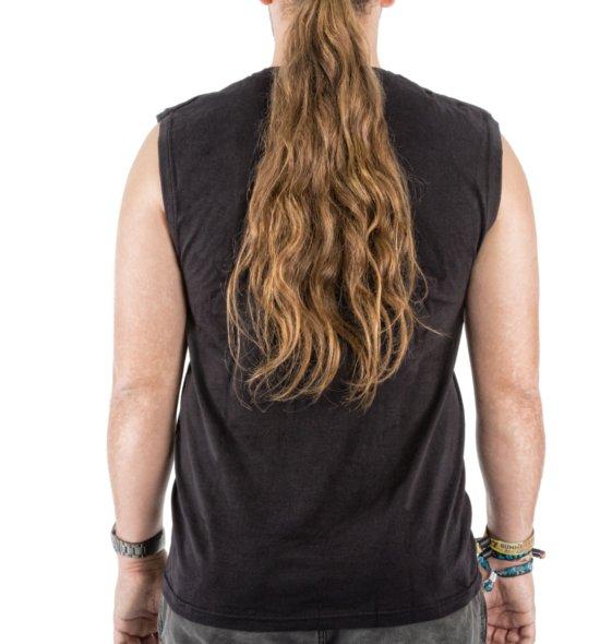 FICKEN Proleten-Shirt schwarz hinten Männer