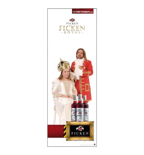 FICKEN Royal Poster Werbefiguren