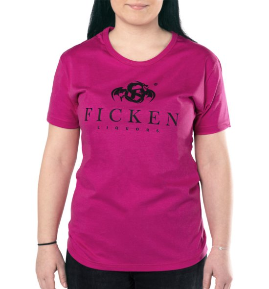 FICKEN Shirt Hardcore Pink lady