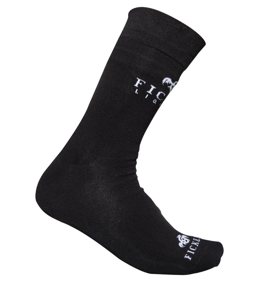FICKEN Socken schwarz · Party Kneipe Bar