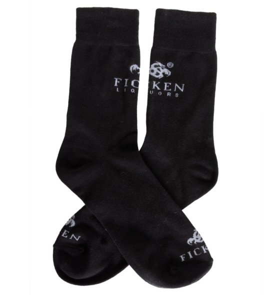 FICKEN Socken schwarz