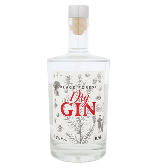 Fies Black Forest Dry Gin 42% vol. 0,5l