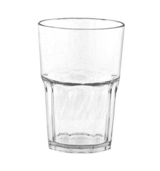 Kunststoffglas Granity 400ml klar