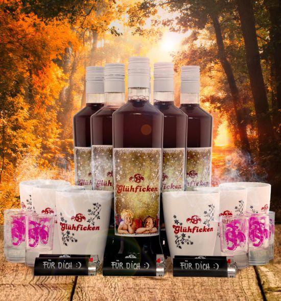 Glühficken Premium Paket im Wald