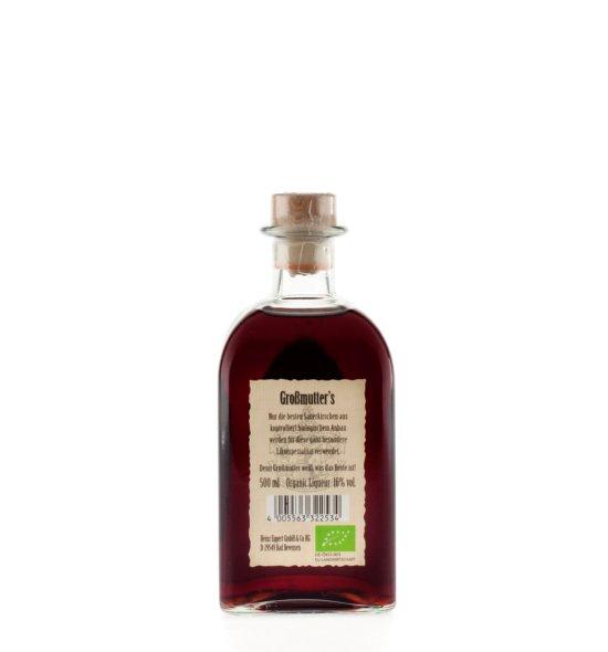 Großmutter's Bio - Sauerkirsch - Likör · 0,5l · 16%