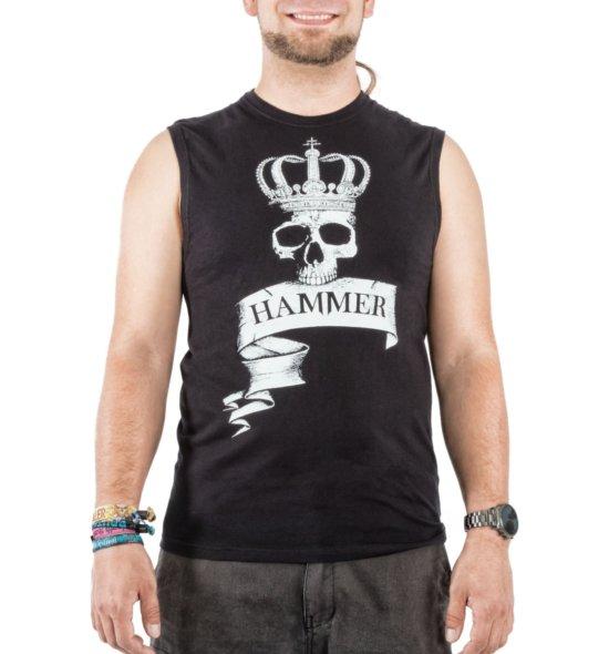 Hammer Proletenshirt vorne schwarz Männer