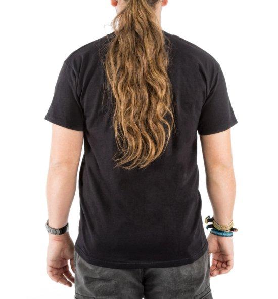 HAMMER Shirt schwarz hinten Männer