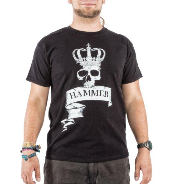 HAMMER Shirt schwarz vorne Männer