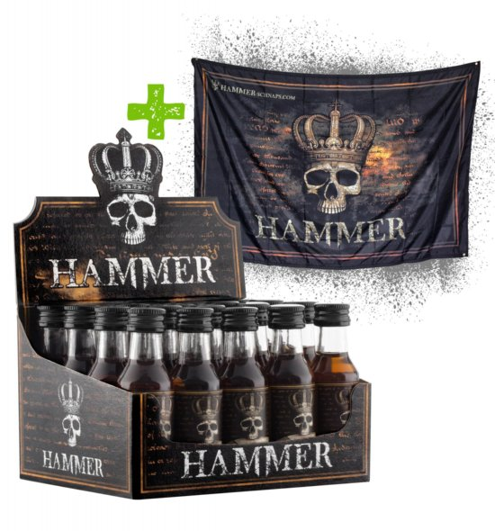 HAMMER Würfel 20x0,02l (+ Fahne gratis)