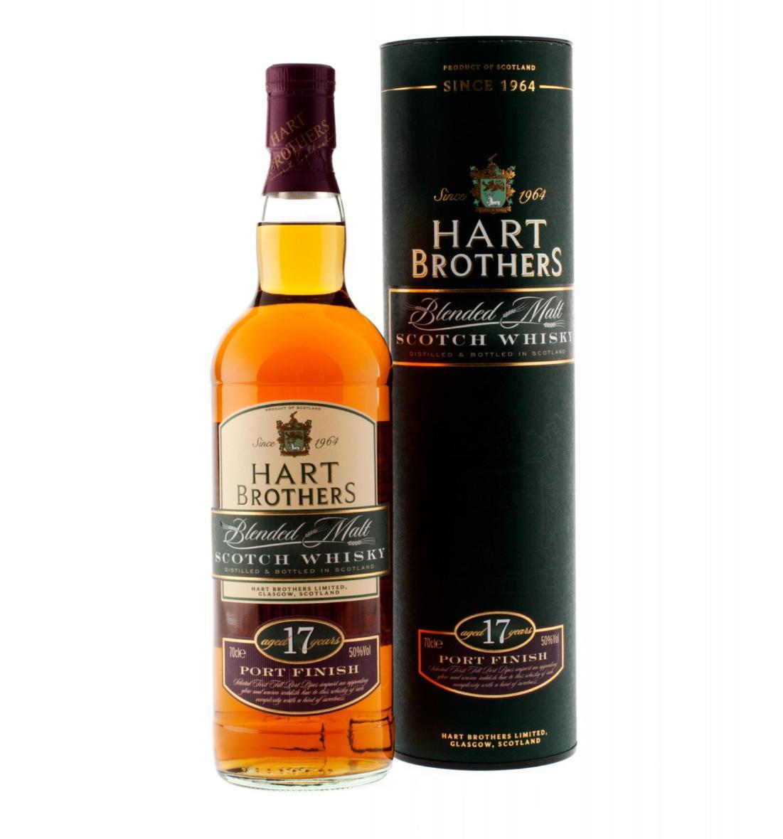 Hart Brothers Blended Malt Whisky 07l 50 17 Jahre Port
