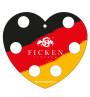 Fan Herztablett Deutschland Rückseite