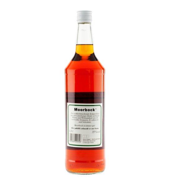 Moorbock Likör - Halbbitter· 1,0l · 35%