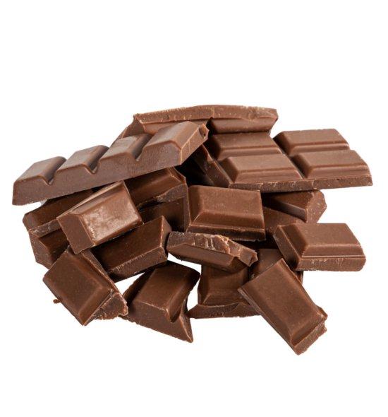 Stinkefingereinhorn Schokolade Vollmilch offen