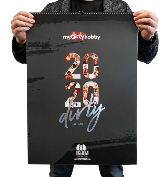 mydirtyhobby Wandkalender 2020 KUSCHELN