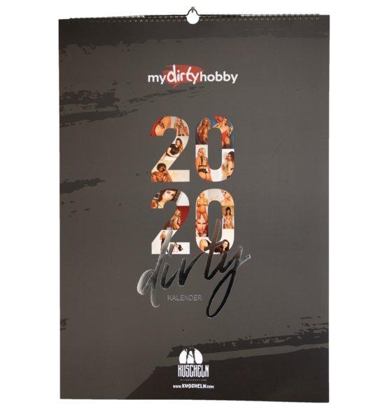 my dirty hobby Kalender 2020 - Deckblatt