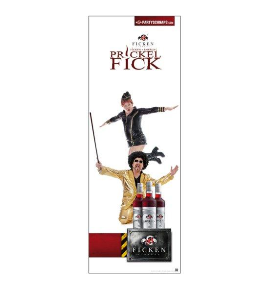 PRICKELFICK Poster Werbefiguren