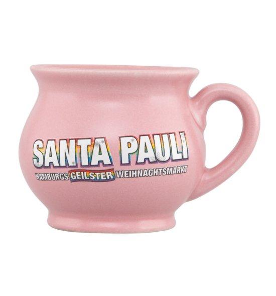 Santa Pauli Tasse pink