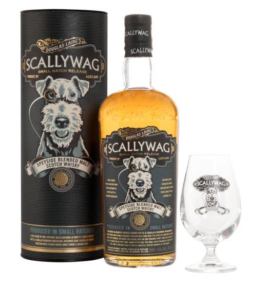 Scallywag Speyside Blended Malt + Nosing-Glas · 0,7l · 46%
