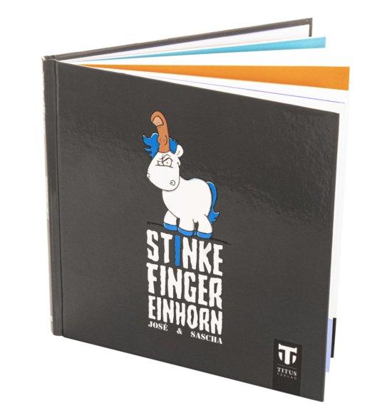 Stinkefingereinhorn Comicbuch