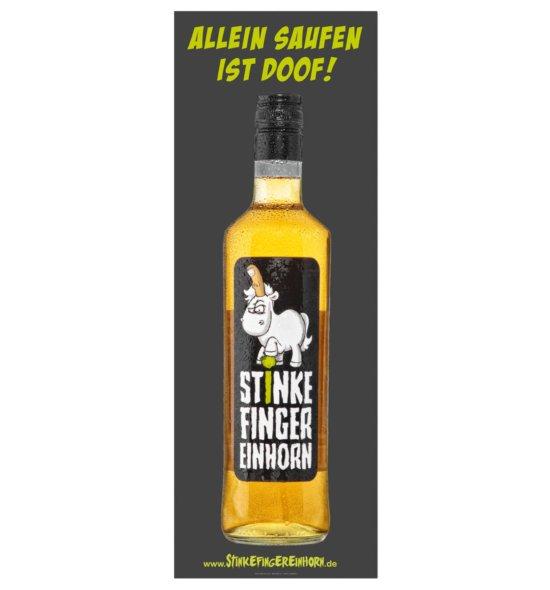 Stinkefingereinhorn Poster