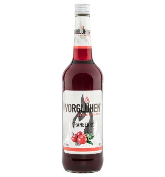 VORGLÜHEN Fruchtlikör 0,7l Cranberry