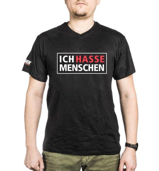 """VORGLÜHEN Shirt """"Ich hasse Menschen"""""""