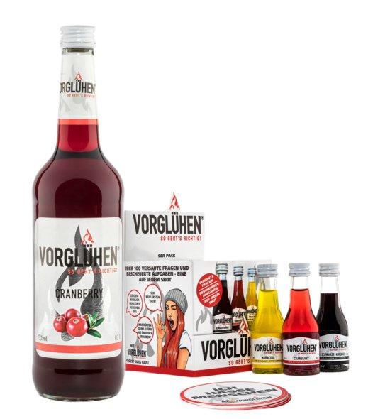 Vorglühen Starterpack Cranberry